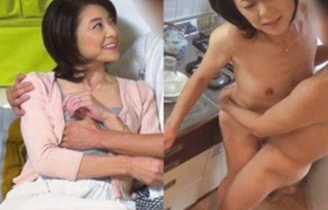 《53歳/おばさん》イケメンが美熟女を部屋に連れ込んでSEXの様子を隠し撮り『素の本気セックス!浮気』あまりにもエロすぎる素人人妻!