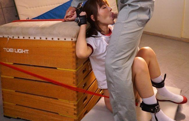 《天使もえ》クソ可愛いJK美少女が肉便器『限界までオマ〇コ責め。。。』四肢の自由を奪われて鬼畜男達に犯される!