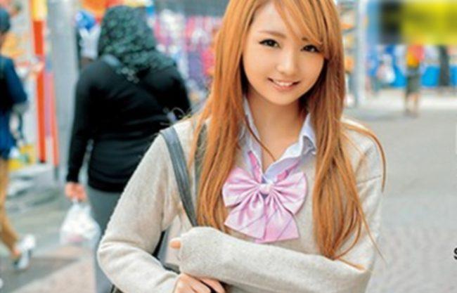 《¥交》茶髪JKギャルと円光『綺麗なピンクの乳首は堪らん。。。』10代のハリのある肌にキツマは最高!
