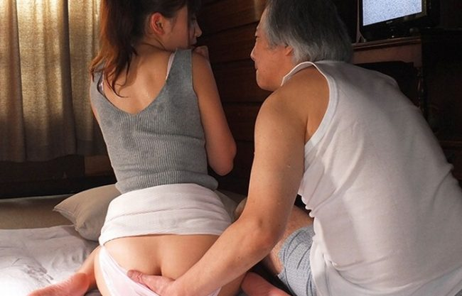 《息子の嫁》義父の熟練したテクと底なしの欲望に『私は、ただただ感じてしまうばかり。。。』この快感は夫では味わえない!